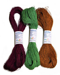 Paper yarn, coloured, 100 g