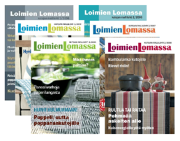 Loimien Lomassa offer: vintages 2006 (2 pc) - 2007 (1 pc) - 2008 (2 pc) (5 issues)