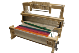 LEENA TABLE LOOM, working width 60 cm, 8 shafts with warp on