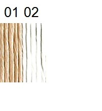 Paper yarn, unbleached or bleached, 100 g