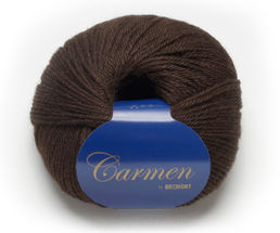 Carmen 602 dark brown, 50 g (266 e/kg)