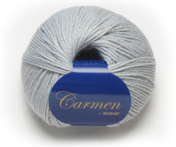 Carmen 613 light grey, 50 g (266 e/kg)