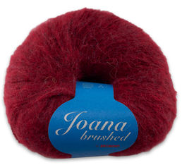 Joana Brushed -alpaca yarn, 1308 wine red 50 g (232 e/kg)
