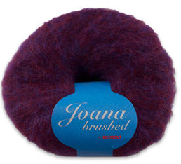 Joana Brushed -alpaca yarn, 1309 purple 50 g (232 e/kg)
