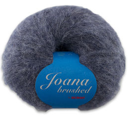 Joana Brushed -alpaca yarn, 1312 grey 50 g (232 e/kg)