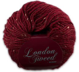 London Tweed 802 red, 100 g (222 e/kg)