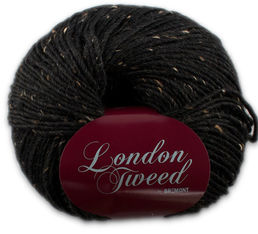 London Tweed 807 black, 100 g (222 e/kg)