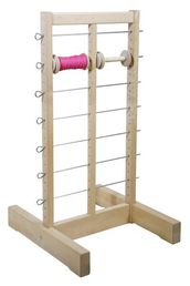 Spool rack for 14 spools