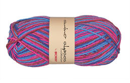 Camino Alpaca multi M504 blue-red, 50 g (210 e/kg)