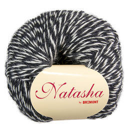 Natasha 134 black / off-white, 50 g (198 e/kg)