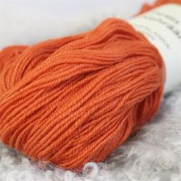 Combed yarn, orange