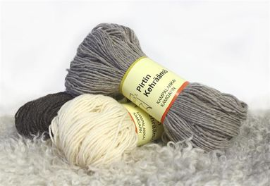 Finnish Wool Yarn by Pirtin Kehräämö