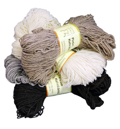 Natural Carded Yarn 140 x 3 tex